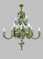 3d chandelier size model