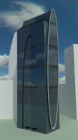 skyscraper empire tower 3d obj