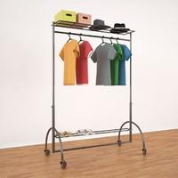 3d max clothes rack ecart international
