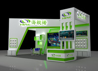 3d exhibition design stand model