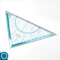 geometry ruler 3d model