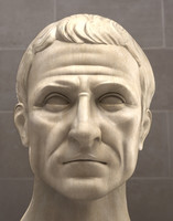 maya roman busts