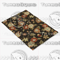 3d loloi rugs fc-04 coffee model