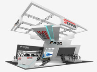 3d exhibition design stand