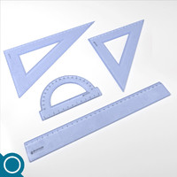 3ds max plastic rulers