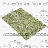 3d model loloi rugs fc-30 green