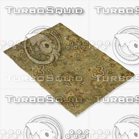 loloi rugs ft-13 sage 3d model