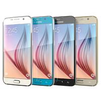 3d model samsung galaxy s6 colors