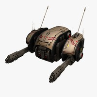 3d model of drone