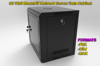 3d model of wall mount network server
