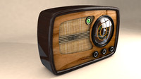 3ds max post-war radio