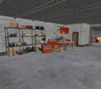 3d model garage tool