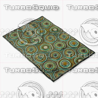 3d model loloi rugs hl-12 gray