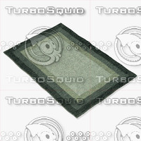 3d model loloi rugs hn-01 slate