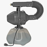 3d electric atomizer sprayer model