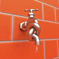 Water Tap with Knot