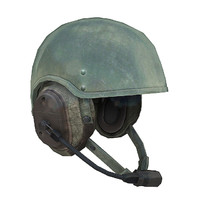 dh-132b helmet 3d model