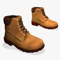 winter boots fbx