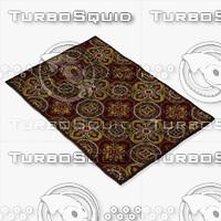 loloi rugs jl-26 brown 3d max