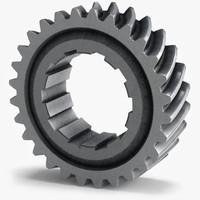 3d model of gear c