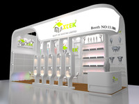 exhibition booth design 3d ma