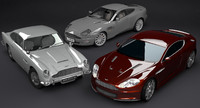 Aston Martin Collection DBS DB5 Vanquish