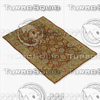 3d loloi rugs le-02 redwood model