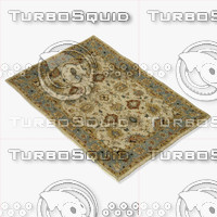 3d loloi rugs le-04 beige model