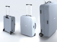 Suitcase Samsonite Velocita Upright 55-20