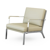 3d model armchair gilbert