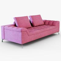 3d sofa cine model