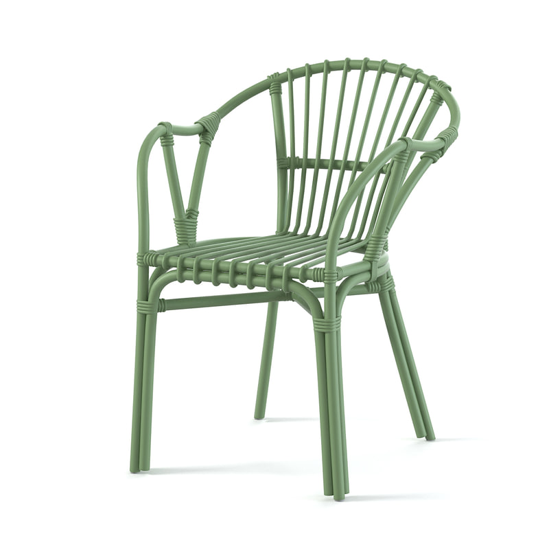 a Ikea Holmsel Outdoor Dining chair armchair wicker plasic modern rattan0001.jpg