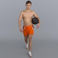 3d human body model