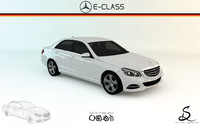 2015 mercedes-benz e w212 3d 3ds