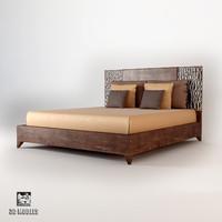 moon bed 2916 3d model