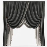 3d curtain classic