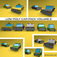 Low Poly Vehicle Pack Volume 2