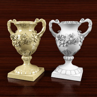 3d model of classical vase