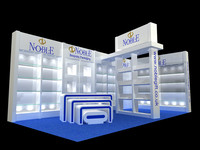 exhibition booth design 3d max