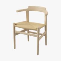 pp 68 chair hans j 3d dwg