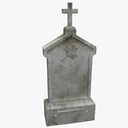 Grave 3D models