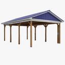 Pavilion 3D models