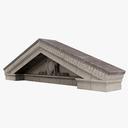 pediment 3D models