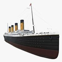rms titanic 3d 3ds