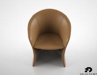 3d draenert calla chair model