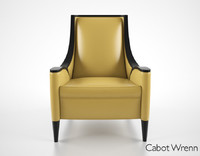 cabot wrenn chair 3d max