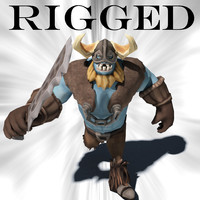 max barbarian rigged