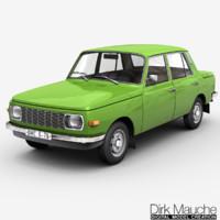 3d model 353 sedan