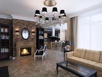 maya classical interior apartment