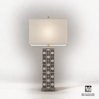 3d model mizner key lamp